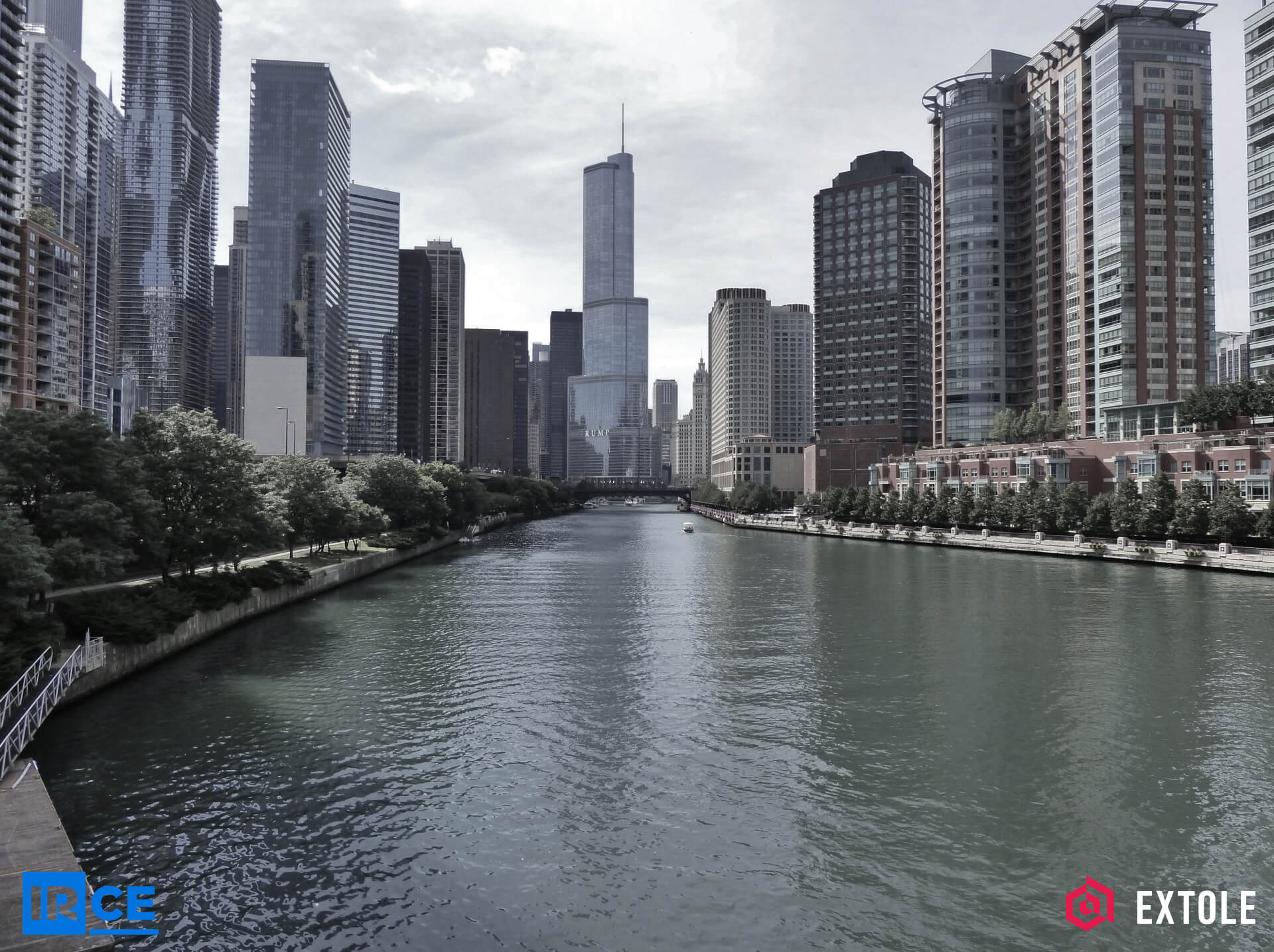 The Chicago River for IRCE & Extole
