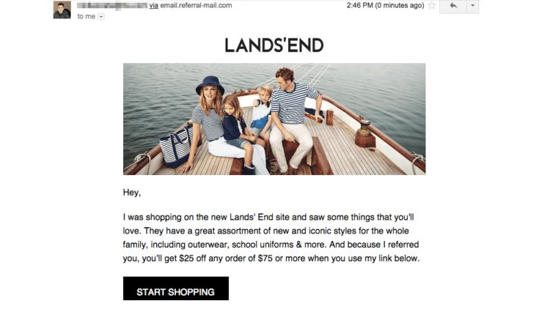 lands-end-referral-share-message